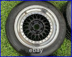 ARE 398 2 piece wheels 16in 5x4.75 (5x120) BBS RS JDM GM CHEVY CAMARO CORVETTE