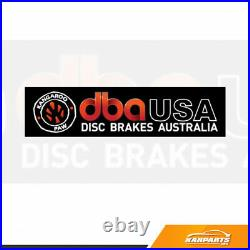 DBA For Chevy Corvette C6 2006-2013 Rotor 2 Piece 5000 Series Drilled & Slotted