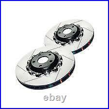 DBA Front Slotted 5000 Series 2 Piece Rotor for 06-13 Chevy Corvette PAIR