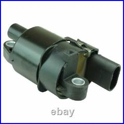 Delphi GN10165 Round Ignition Coil Set of 4 for Chevy GMC Cadillac Pontiac Buick