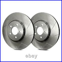 For Chevy Corvette 05-13 SP Performance Slotted 1-Piece Front Brake Rotors