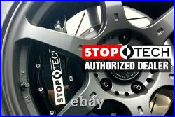 For Chevy Corvette 06-13 Sport Slotted 1-Piece Rear Driver Side Brake Rotor