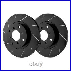 For Chevy Corvette 65-82 SP Performance Slotted 1-Piece Front Brake Rotors