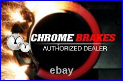 For Chevy Corvette 88-96 Drilled & Slotted 1-Piece Rear Brake Rotors