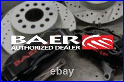 For Chevy Corvette 97-04 Brake Rotors Sport Decela Drilled & Slotted 1-Piece