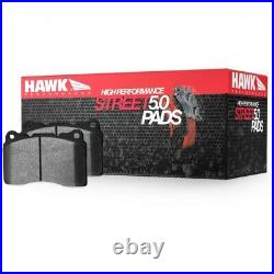 Hawk 2010-2013 for Chevy Corvette Grand Sport (One-Piece Pads) High Perf. Stree