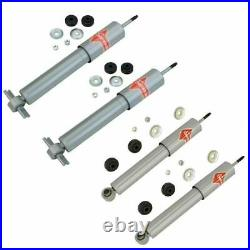KYB 4 Piece Gas-a-Just Front & Rear Shock Absorber Set Kit fit Chevy Corvette