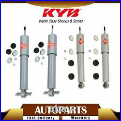 KYB 4pcs Gas-a-Just Front & Rear Shock Absorber Set for Chevy Corvette 1989-1996