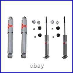 KYB(GAS-A-JUST) 4PCS Front Rear Shock Absorber Fit CHEVROLET CORVETTE 1963-1982