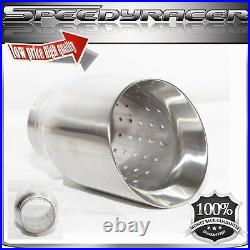 Stainless Steel Exhaust Tips 1 Piece for Chevrolet Corvette