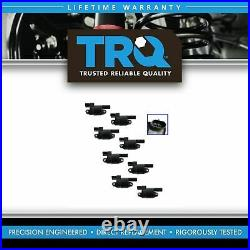 TRQ COP Ignition Coil Set of 8 for GM Chevy Silverado Pickup Truck SUV Hummer